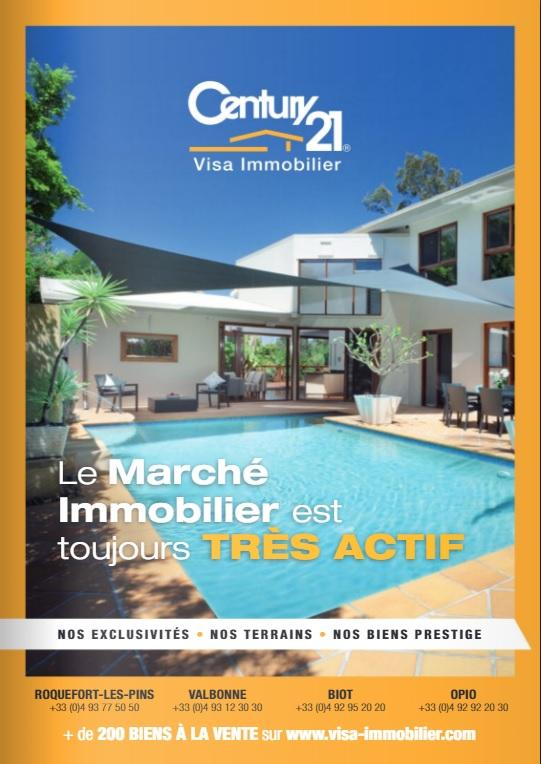 le nouveau magazine century 21 visa immobilier est en ligne century 21 visa immobilier. Black Bedroom Furniture Sets. Home Design Ideas
